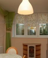 фото оригинальных штор для кухни