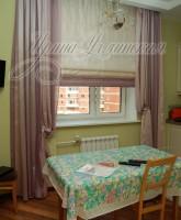 фото римской шторы для кухни
