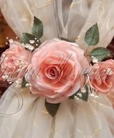 цветы из ткани для штор фото