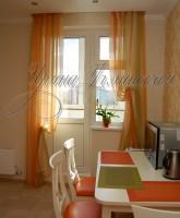 шторы для кухни, на маленькое окно