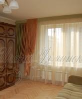шторы для гостиной бюджетный вариант