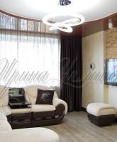 шторы для гостиной венге