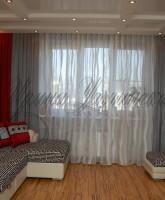 фотография штор для гостиной в современном стиле