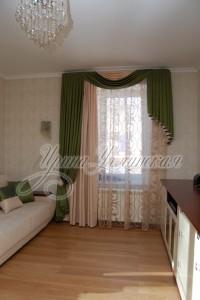 шторы в гостинную в классическом стиле