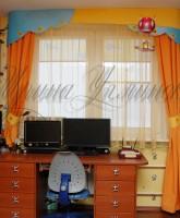 фото штор в детскую комнату