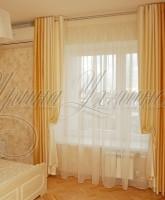 фото штор на люверсах для спальни