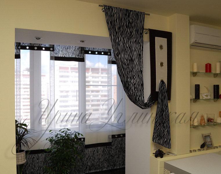 Шторы в современном стиле: http://www.design-shtor.ru/gallery/kvartira-v-sovremennom-stile/
