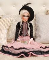 интерьерная будуарная кукла