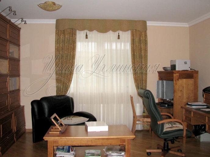 фото штор для кабинета
