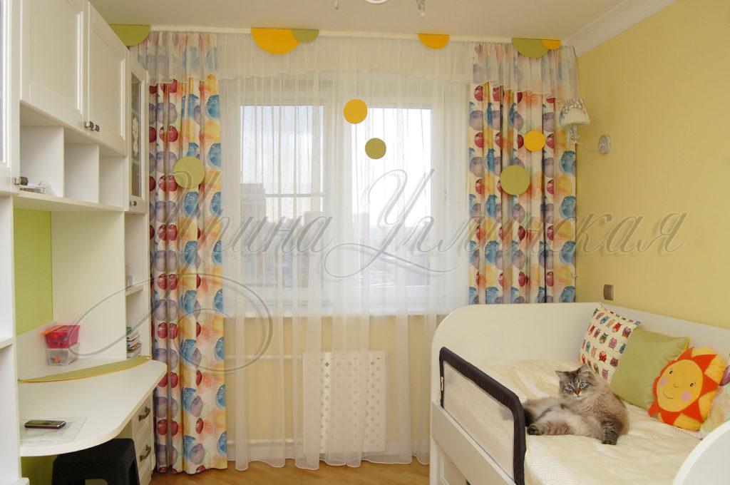 оригинальные шторы для детской комнаты