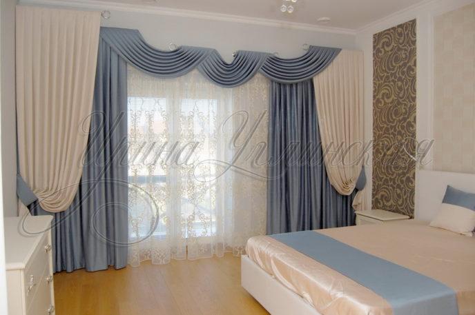 фото штор в спальню