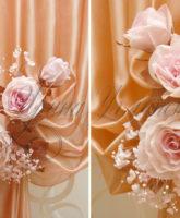 подхваты для штор с цветами